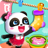 Tải Game Baby Panda Gets Organized
