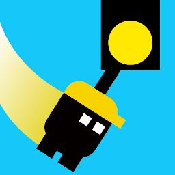 4月27日にオススメゲームに選定 爽快アクションゲーム Sling And Jump Androidゲームズ