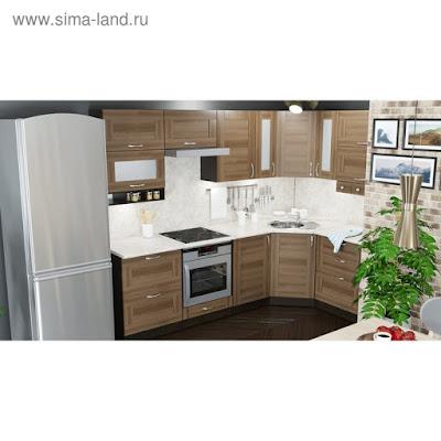 Кухонный гарнитур Кира гранд оптима 2600*1500