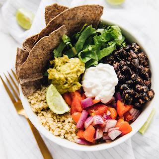 Delicious Vegan Quinoa Burrito Bowls Recipe