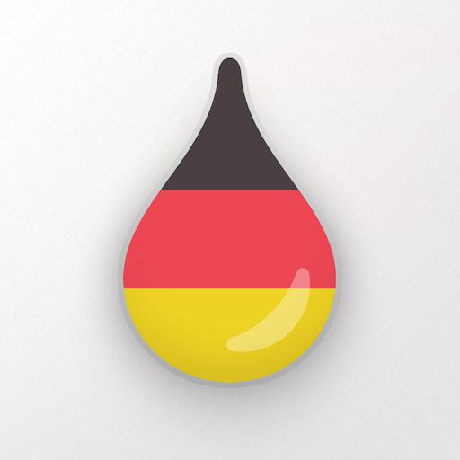 Drops: Learn German. Speak German. Icon