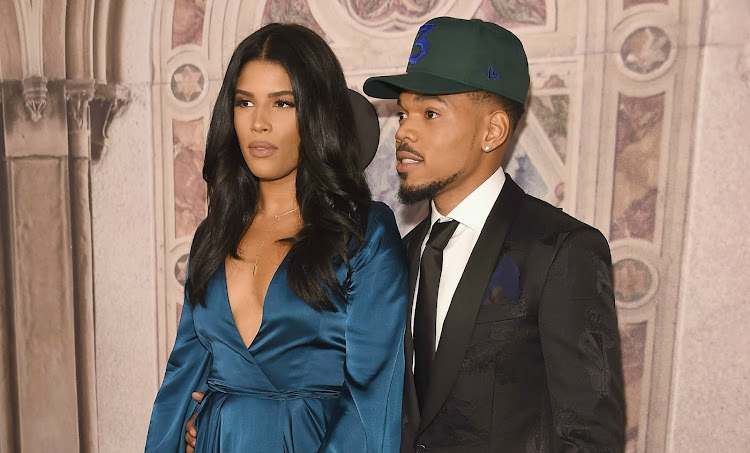 Kirsten Corley and Chance the Rapper had their white wedding over the weekend.