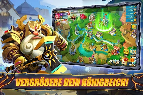Lords Mobile: Königreich im Krieg - Strategie-MMO Screenshot