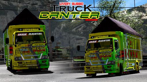 Livery Bussid Truck Canter 6 screenshots 1