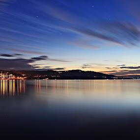 Mjøsa , Gjøvik  by Ahmad Torabi - Landscapes Starscapes ( gjøvik, mjøsa )