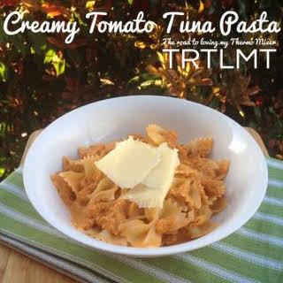 Creamy Tomato Tuna Pasta - TMX.