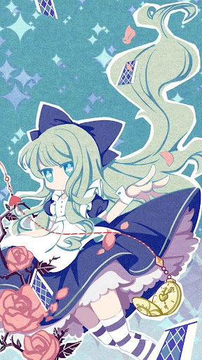 Alice in Paperland Hola Theme