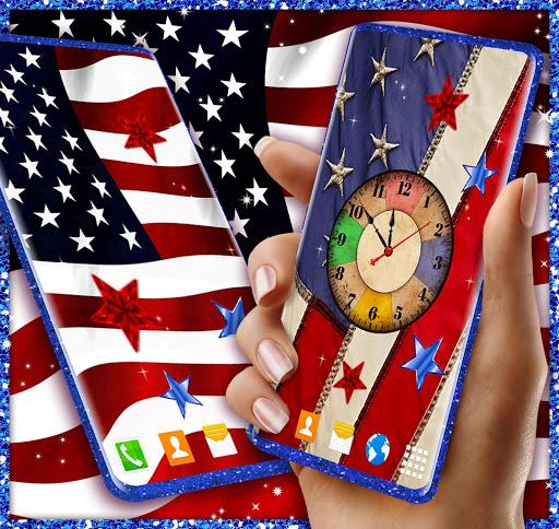 American Flag Wallpapers: USA Wallpaper Theme Free screenshot