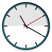 White Watch Face