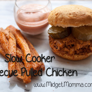 Slow Cooker Barbecue Pulled Chicken