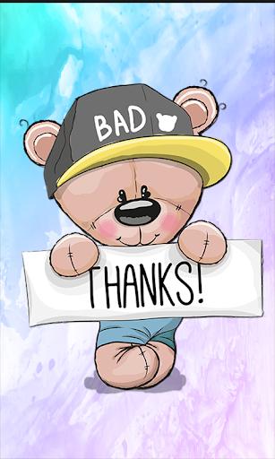 Thank You Stickers HD 1.0 screenshots 1