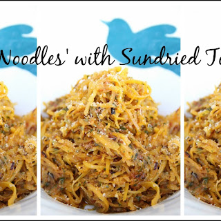 Butternut Noodles with Sundried Tomato Pesto