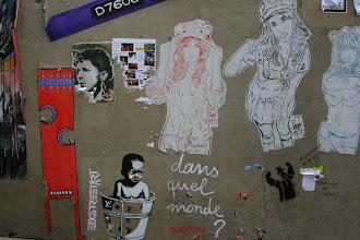 Photo: Street art -EZK - Paddy -Paris XIIIe -La butte aux cailles
