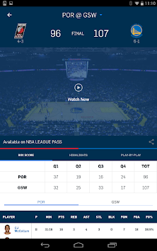 NBA приложение APK screenshot thumbnail 10
