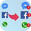 Messenger Parallel Dual App Clone Multiple Account