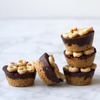 Mini Honey Nut Cheerios Almond Butter Cups.
