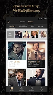 Millionaire Match Dating -Luxy- screenshot thumbnail