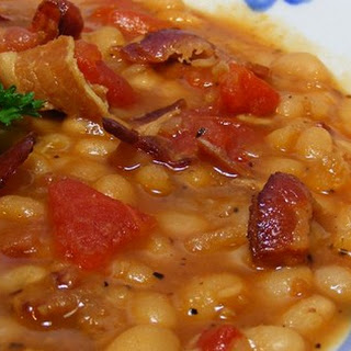 Bean with Bacon A great winter soup.