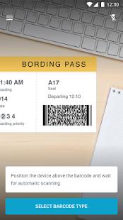 PDF417 barcode scanner - náhled