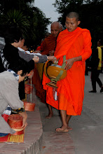 Photo: Day 271 - Monks Receiving Their Gifts