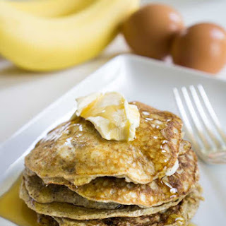 Clean Eating Banana Pancakes.
