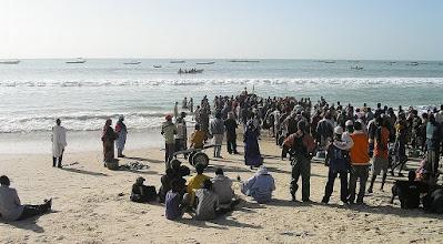 Photo: Nouakchott - port rybny