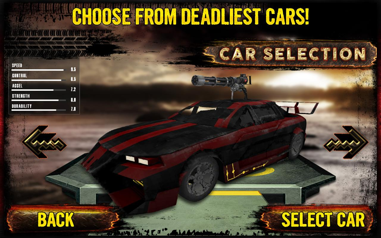 Death Race Beach Racing Cars Android Apps On Google Play