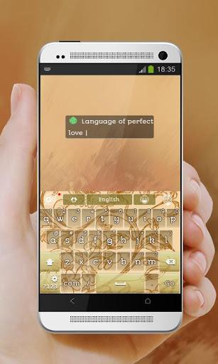 玩免費個人化APP|下載巴黎戀情Bālí liànqíng GO Keyboard app不用錢|硬是要APP