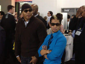 Photo: LL Cool J and Brian Tong - Photo by Mickey Wilson