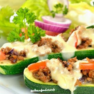 Fajita Stuffed Zucchini