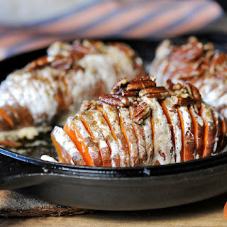 Hasselback Sweet Potatoes.