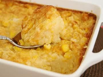 Holiday Baked Corn Pudding