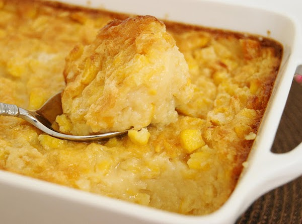 Holiday Baked Corn Pudding Recipe