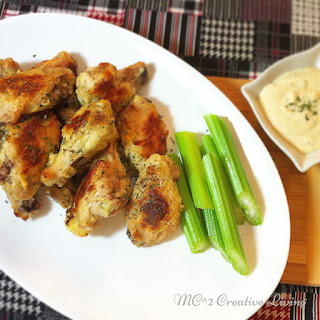 Ranch Chicken Wings.