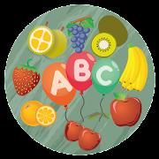 Fruity Balloon Alphabet