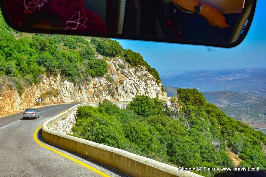 Дороги Верхней Галилеи. Экскурсии в Израиле.