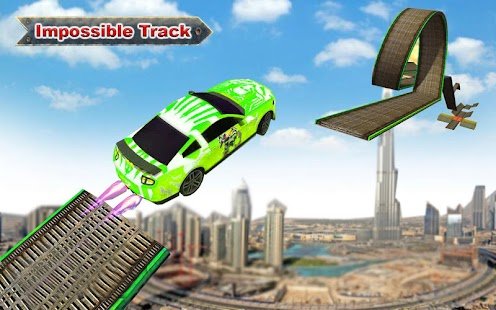 Impossible Track Car Stunt Games - náhled