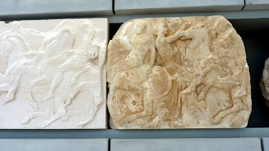 Photo: The Frieze is the narrative of the story of the Panathenaic Procession