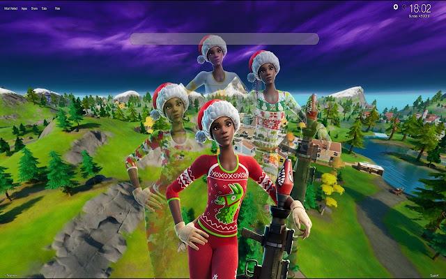 New Christmas Skins Fortnite 2020 Fortnite Christmas Skins Wallpapers