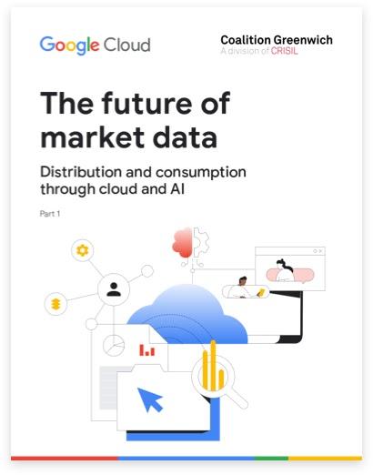 The future of market data book cover