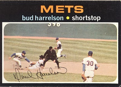 Photo: 1971 Topps Bud Harrelson