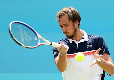 Medvedev heeft lovende woorden voor Goffin in aanloop naar hun finale