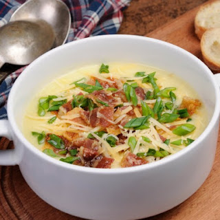 Evaporated Milk Potato Soup Recipe