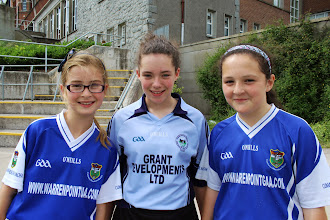 Photo: Sarah Daly, Eimear Magee (MBridge) and Grace Tinnelly