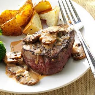Tenderloin Steak Diane.
