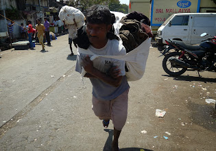 Photo: Carrying clothes