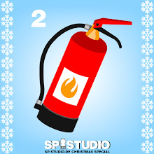 Photo: ristmas trees easily catch fire, but you will be safe with the new SP-Studio fire extinguisher