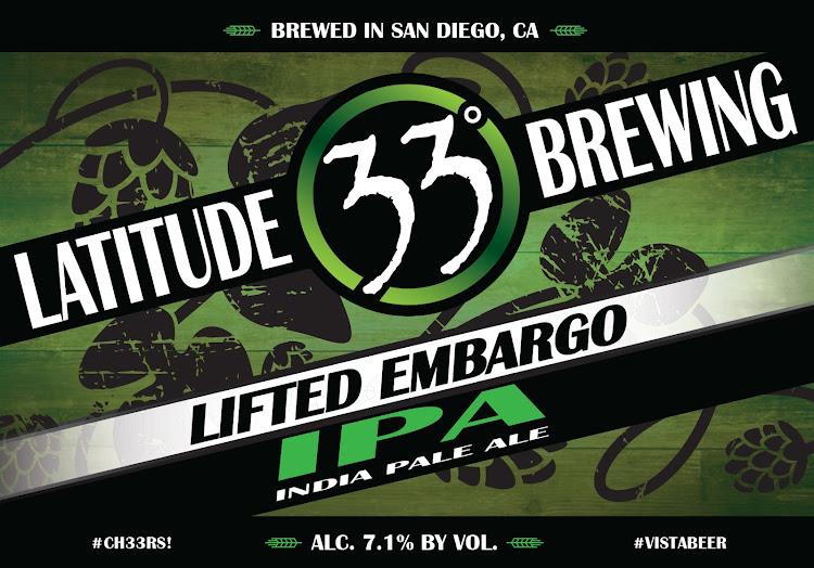 Logo of Latitude 33 Lifted Embargo
