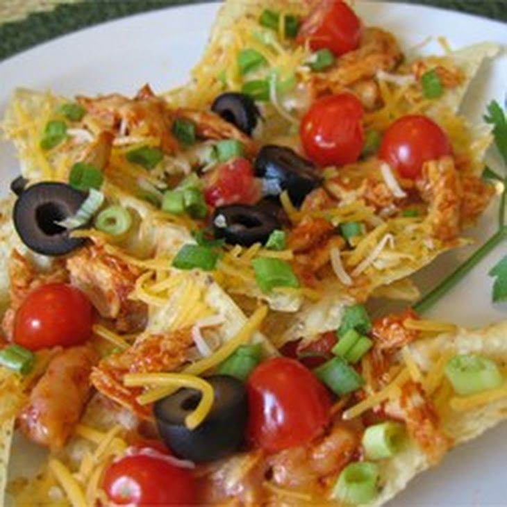 Restaurant Style Chicken Nachos Recipe | Yummly