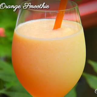 Peach Orange Smoothie.